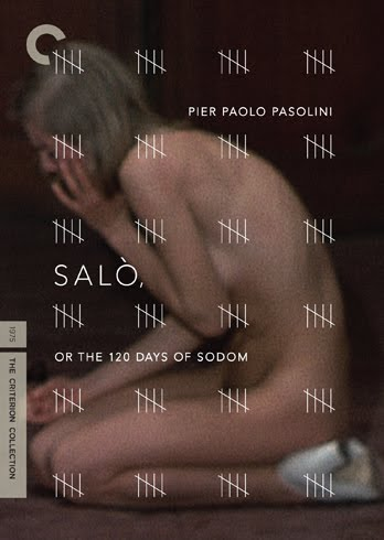 "Criterion Collections DVD jacket cover for ""Salo"""