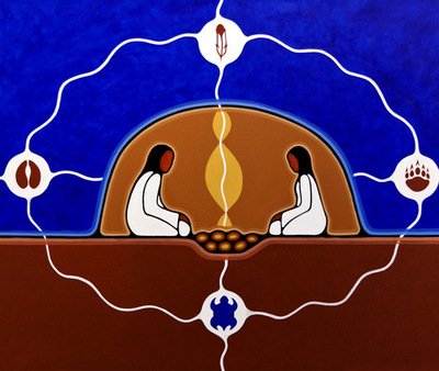 http://www.urbanaboriginal.org/artists/sharifah-marsden/sweat-lodge/