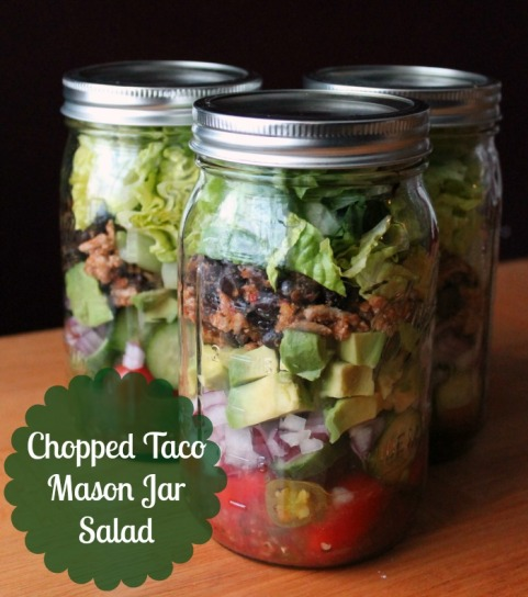 If you seriously want to transform your life in an easy way, you cannot beat making Mason Jar Salads. I make these every Sunday now and they keep the whole week in the fridge. Talk about an easy lunch!
