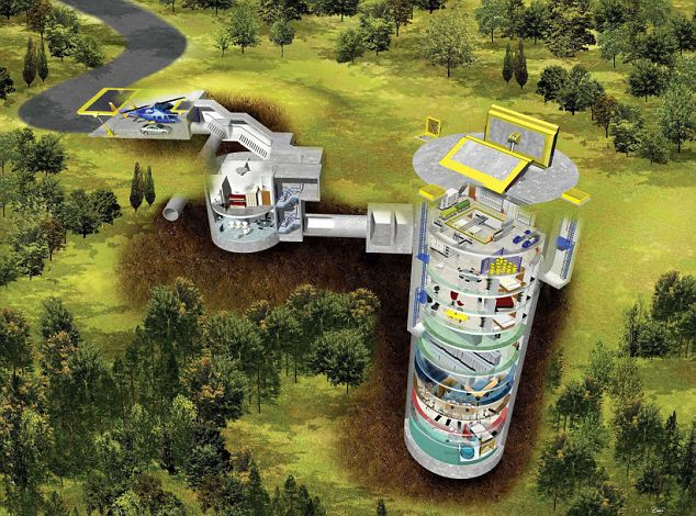 Design of underground bunkers which are supposedly good enough to withstand the Apocalypse