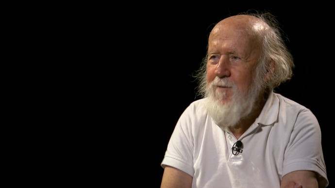 Astrophysicist, poet and mystic , Hubert Reeves