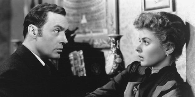 Charles Boyer (Gregory) and Ingrid Bergman (Paula)