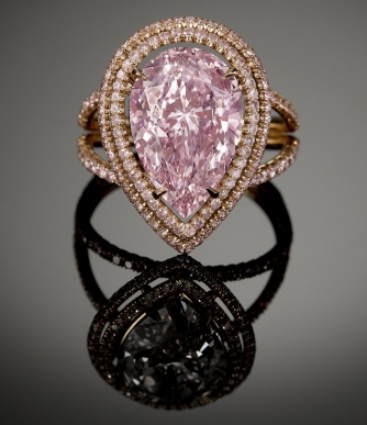 Cassel Pink Diamond ring, .79 carats, you can have this for a mere $1.3 million dollars at M.S Rau Antiques in Louisiana