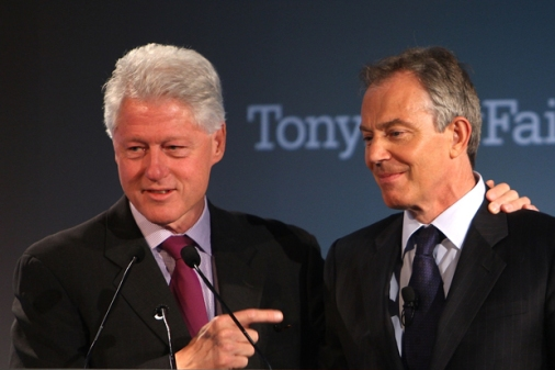 Clinton and Blair, two peas in a pod of crooks