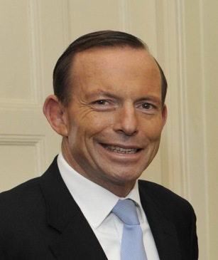 Ousted Aussie prime Minister and bona-fide idiot Tony Abbott