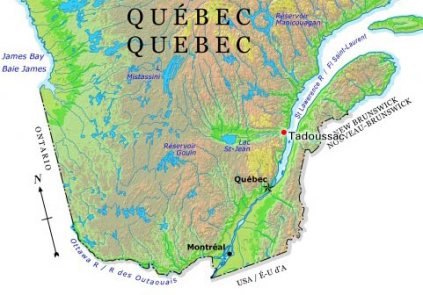 Where Tadoussac is located