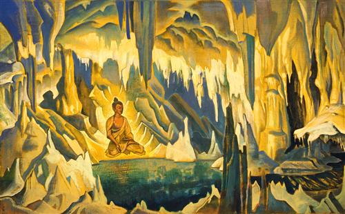 """Buddha the Winner"" by Nicolas Roerich"