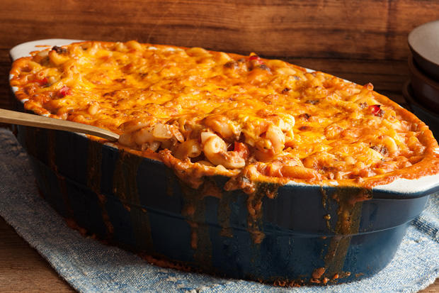 Make THIS Beef Mac'Cheese. I've actually received random marriage proposals at dinner parties when I've made this in the past.