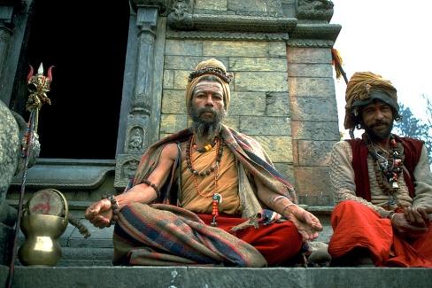Sadhus in Nepal