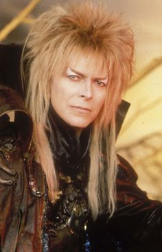 "Rest in peace, Goblin King . (Bowie in the Jim Henson film ""Labyrinth"")"