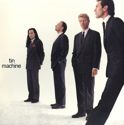 Bowie was in the short-lived band Tin Machine.