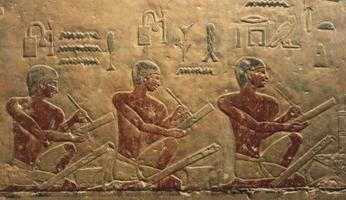 Ancient Egyptian scribes