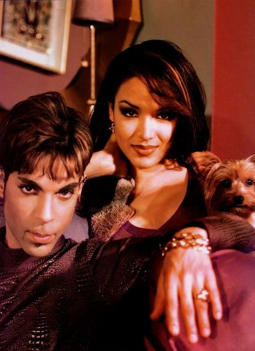 Prince with first wife, Mayte Garcia