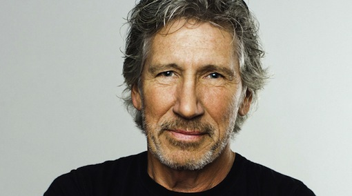 """The man behind Pink Floyd's """"The Wall"""" Roger Waters."""