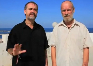 Ken and Max in Gaza in better times (2013)