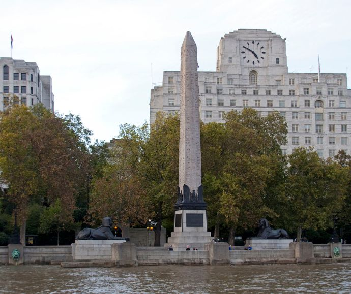 The obelisks in new York and London are actually a matching pair from Heliopolis, Egypt.