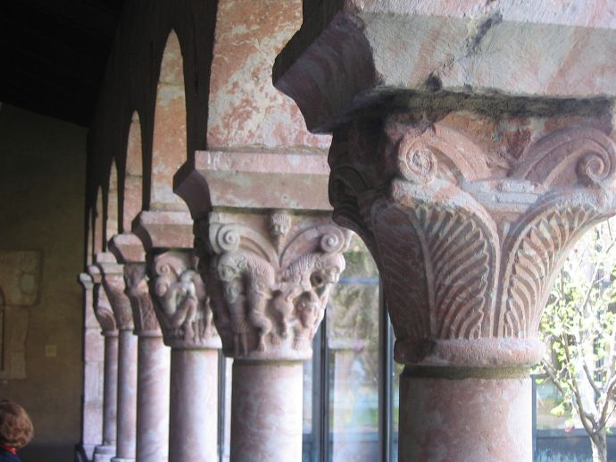 Dozens of them at the Cloisters and each one is different