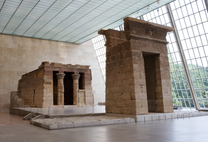 The Temple of Dendur at the Met Museum