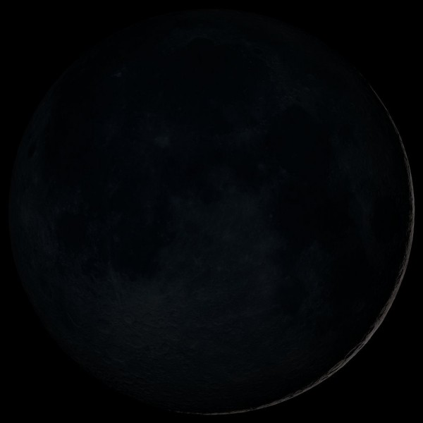 'Black Moon' Friday Pictured-here-is-the-traditional-new-moon-the-earliest-visible-waxing-crescent-which-signals-the-start-of-a-new-month-in-many-lunar-and-lunisolar-calendars