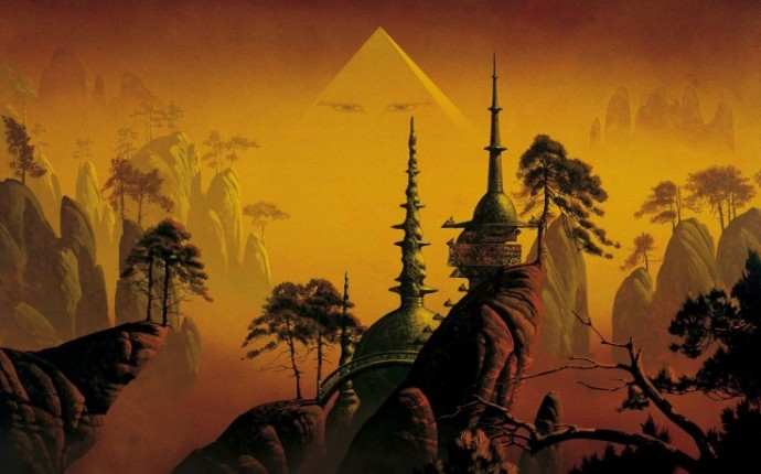 """""""Asia Pyramid"""" - Roger Dean"""