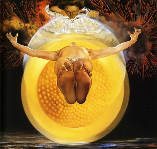 """Ascension"" by Salvador Dali (1958)"