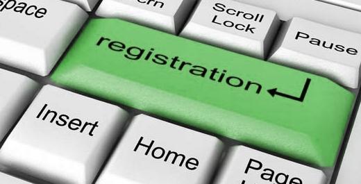 Get registered.