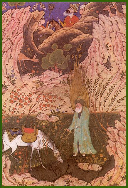 Al-Khidr with Alexander the Great
