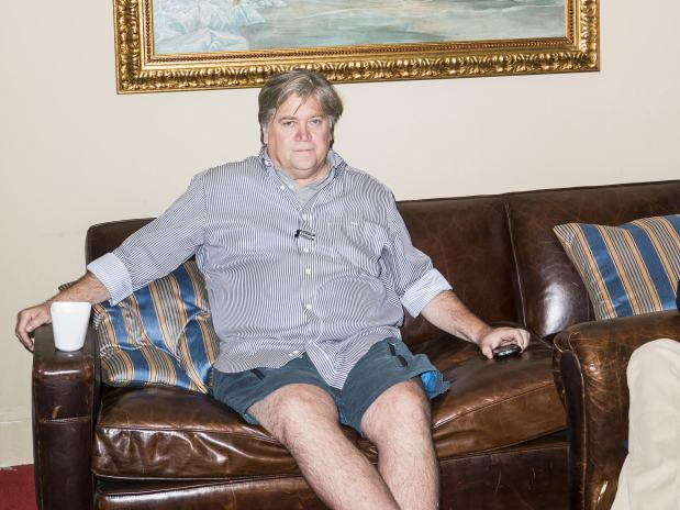 ....this dude? Steve Bannon