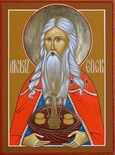 Orthodox icon of Melchizedek